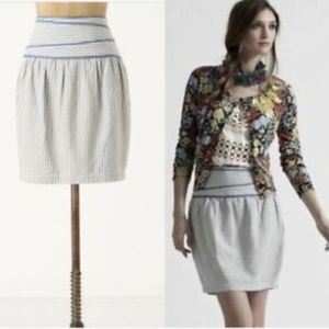 Hype Linen Pencil Skirt from Anthropologie